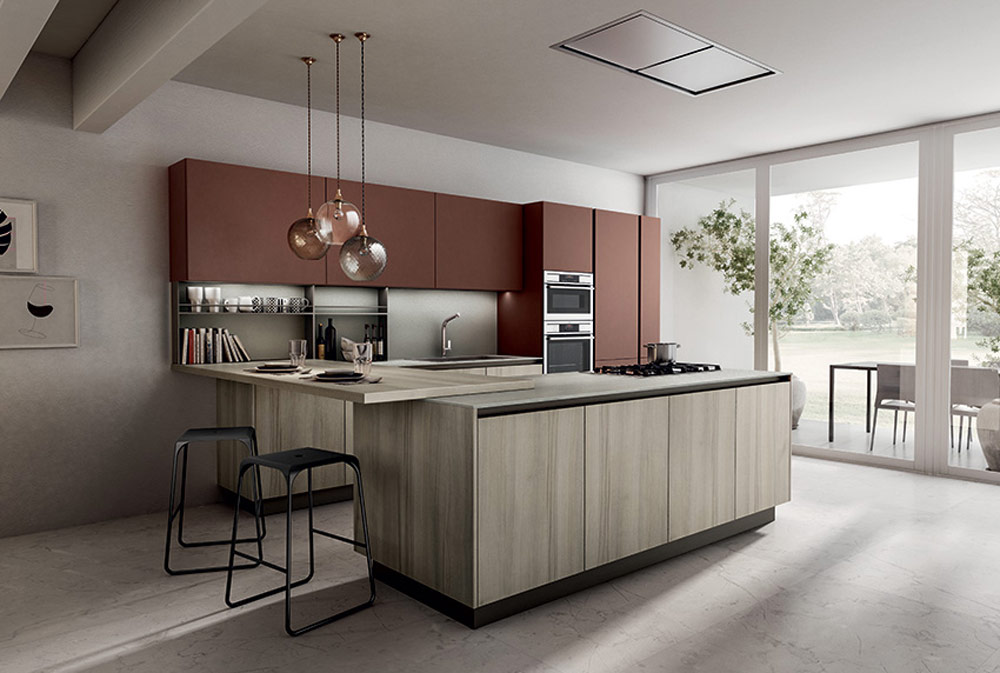 Cucina Moderna Gennaio 2020.Cloe Una Cucina Moderna Dalle Molteplici Possibilita
