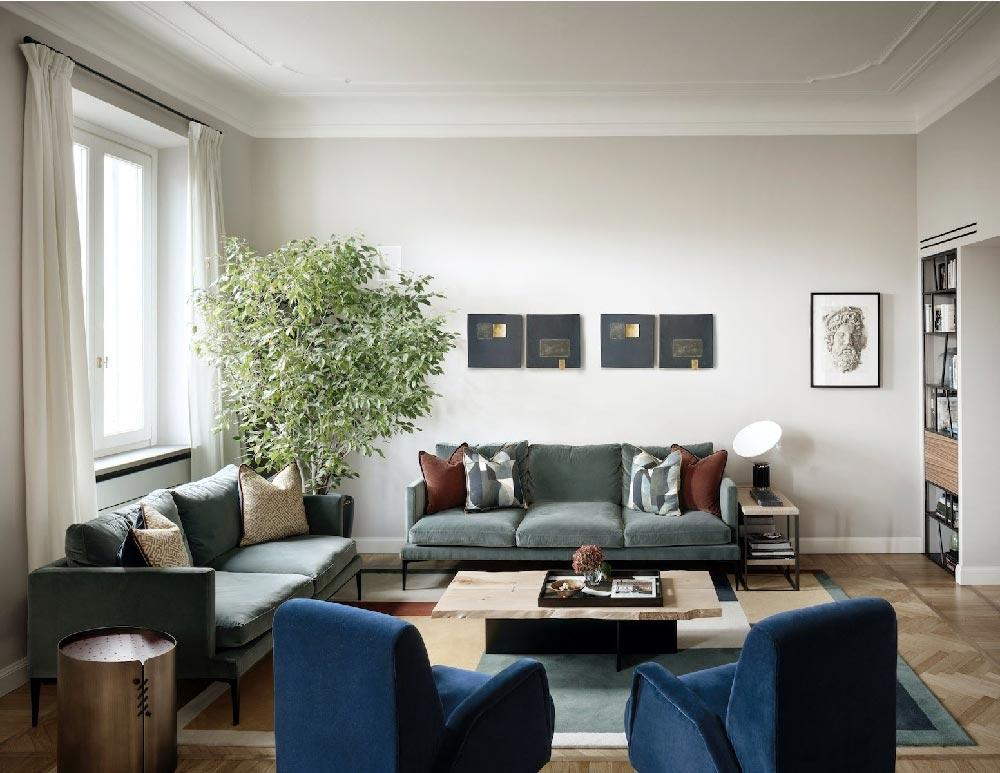 Ispirazione londinese per un appartamento a milano for Home decor milano