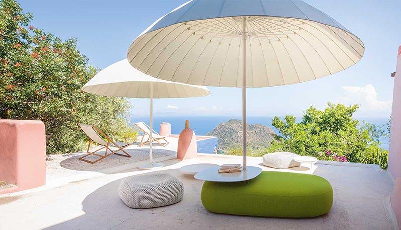 ombrelloni da giardino di design