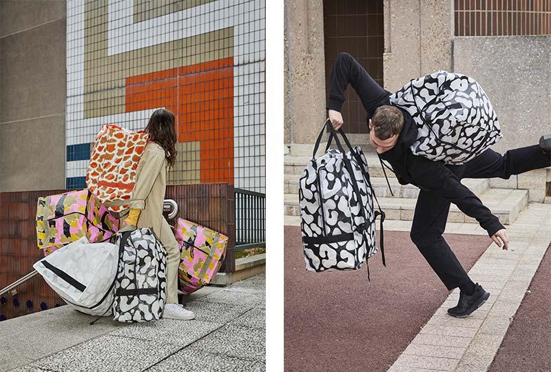 borsoni Ikea per traslocare abiti e accessori