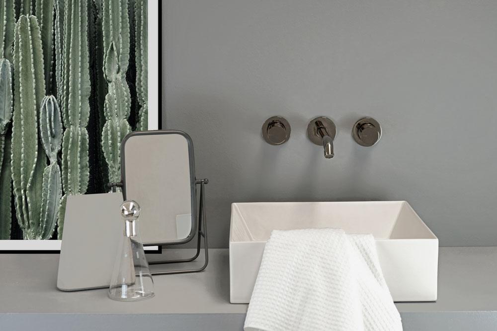 rubinetto bagno da parate acciaio inox