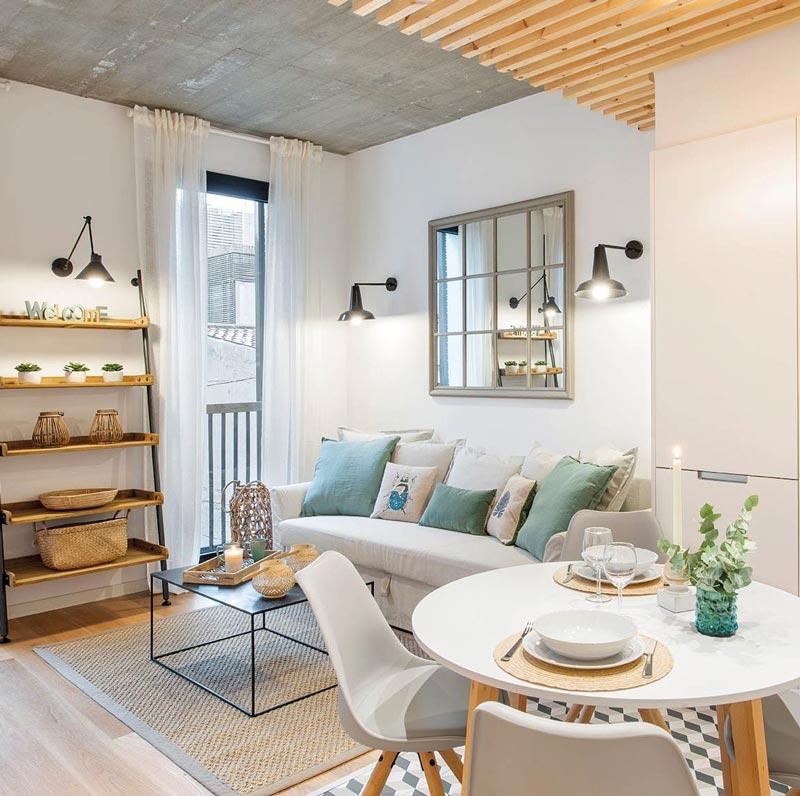 Un appartamento di 50 mq con tante idee da copiare per la ...
