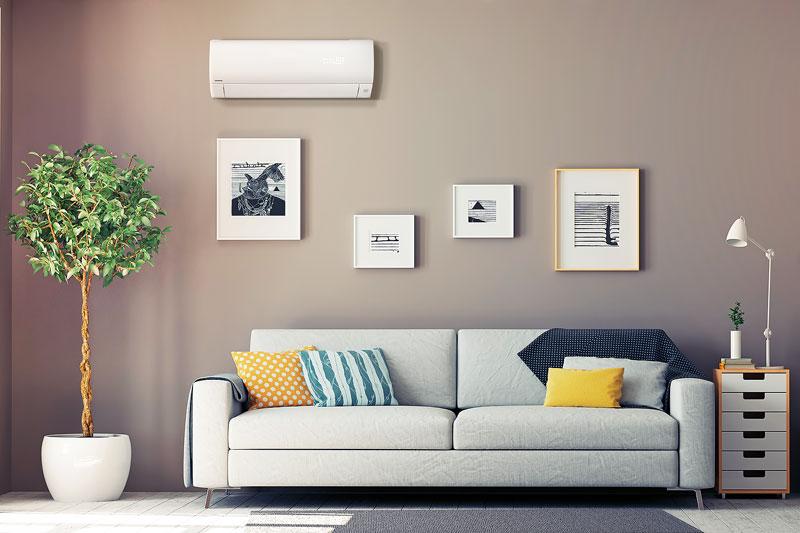 climatizzatore pulito e un ambiente sano