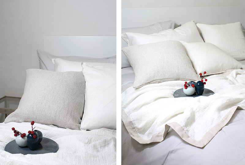 biancheria da letto in voile di cotone