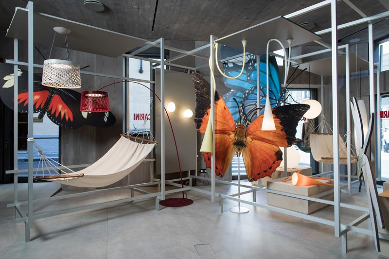 showroom Foscarini a Milano