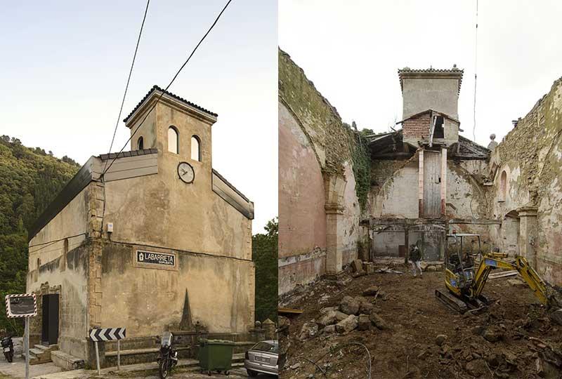 chiesa abbandonata in Spagna