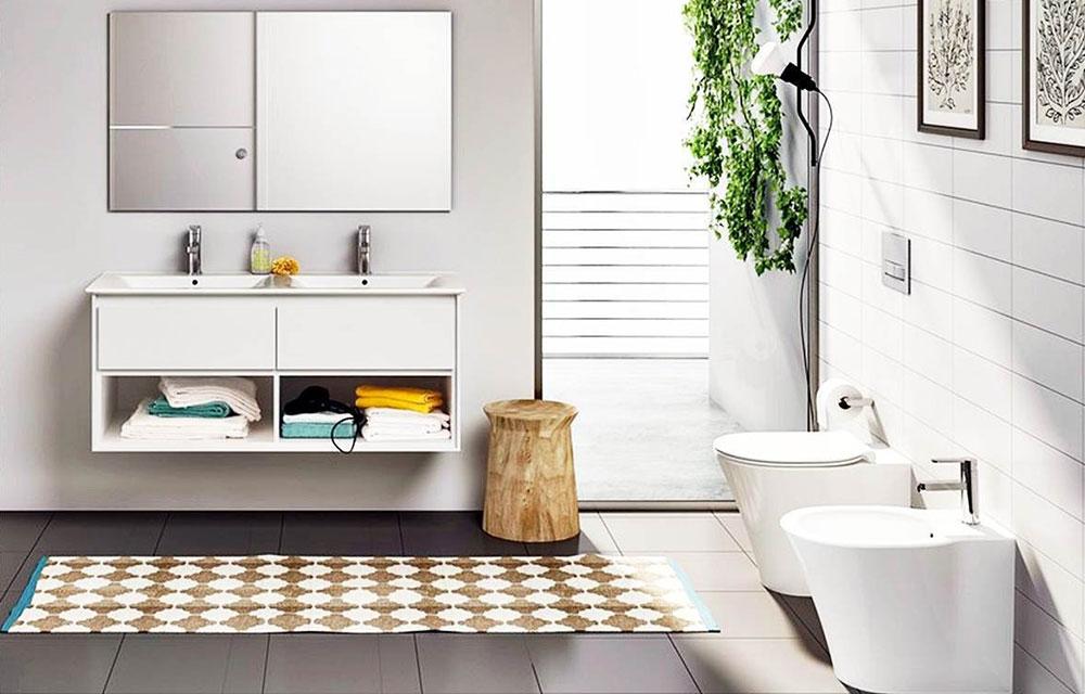bagno moderno firmato Ideal Standard