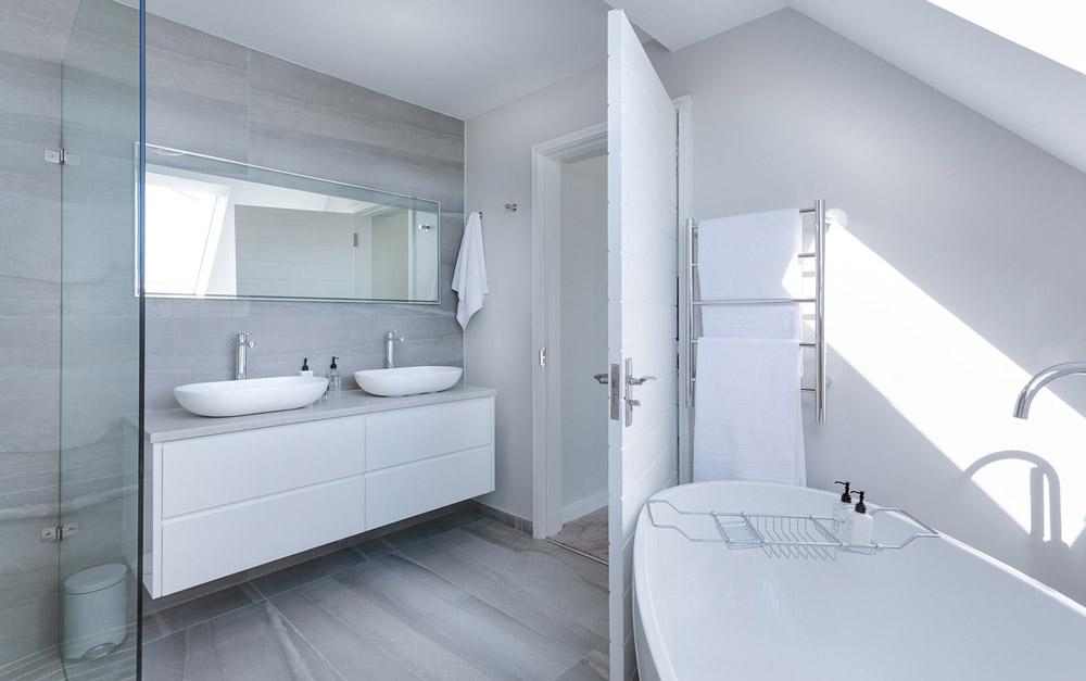 bagno moderno total white