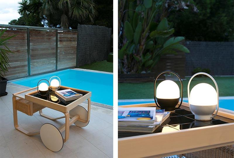 lampada senza fili a LED