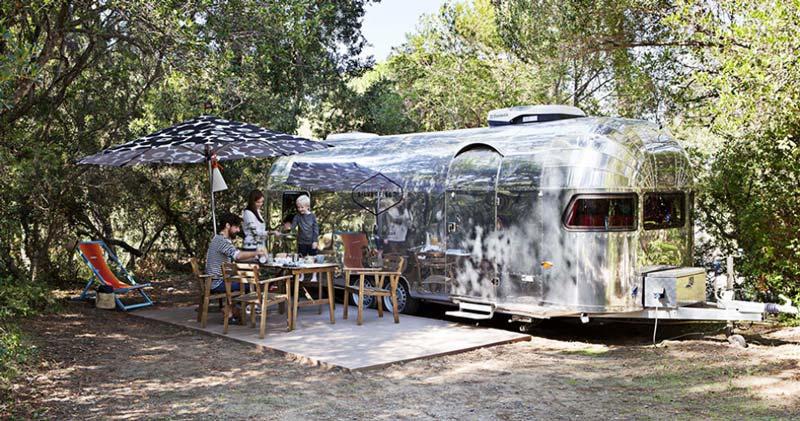 caravan Silverfield a Punta Ala