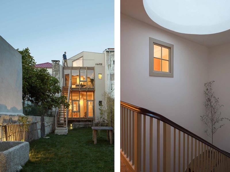 Rosario House a Porto depA architects