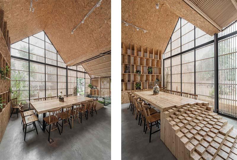 arredamento in legno sostenibile