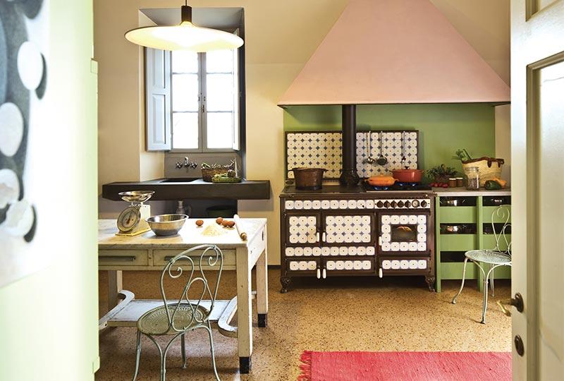 cucina a legna Borgo Antico