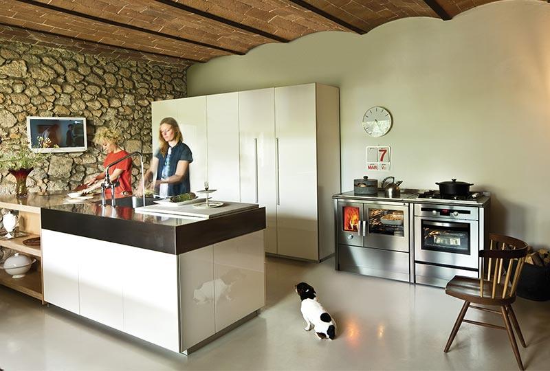 cucina a legna NEOS