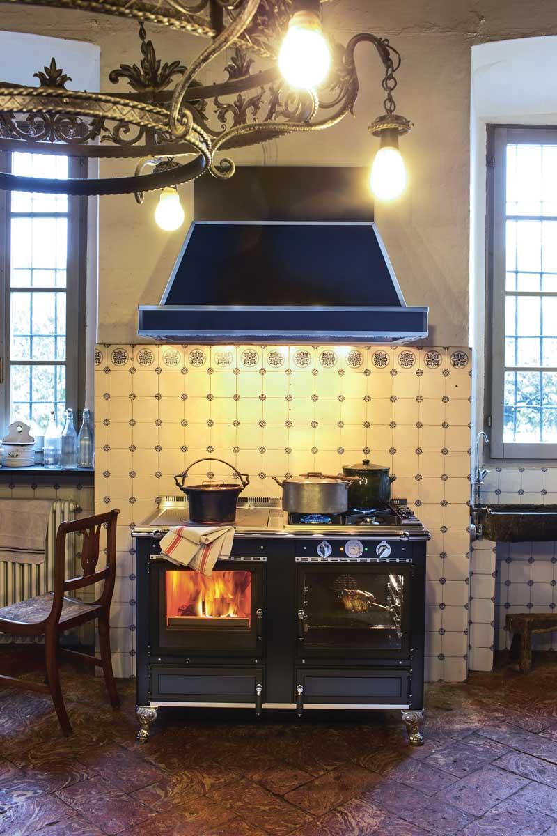 cucina a legna Rustica