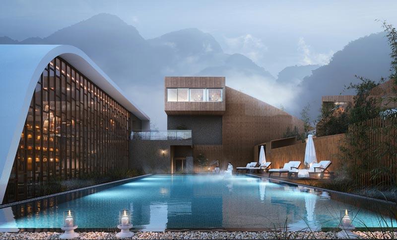 progetto Hotel vincitore del premio A'Design Award 2019