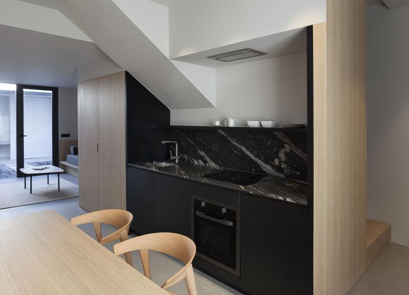 parete cucina di casa PA