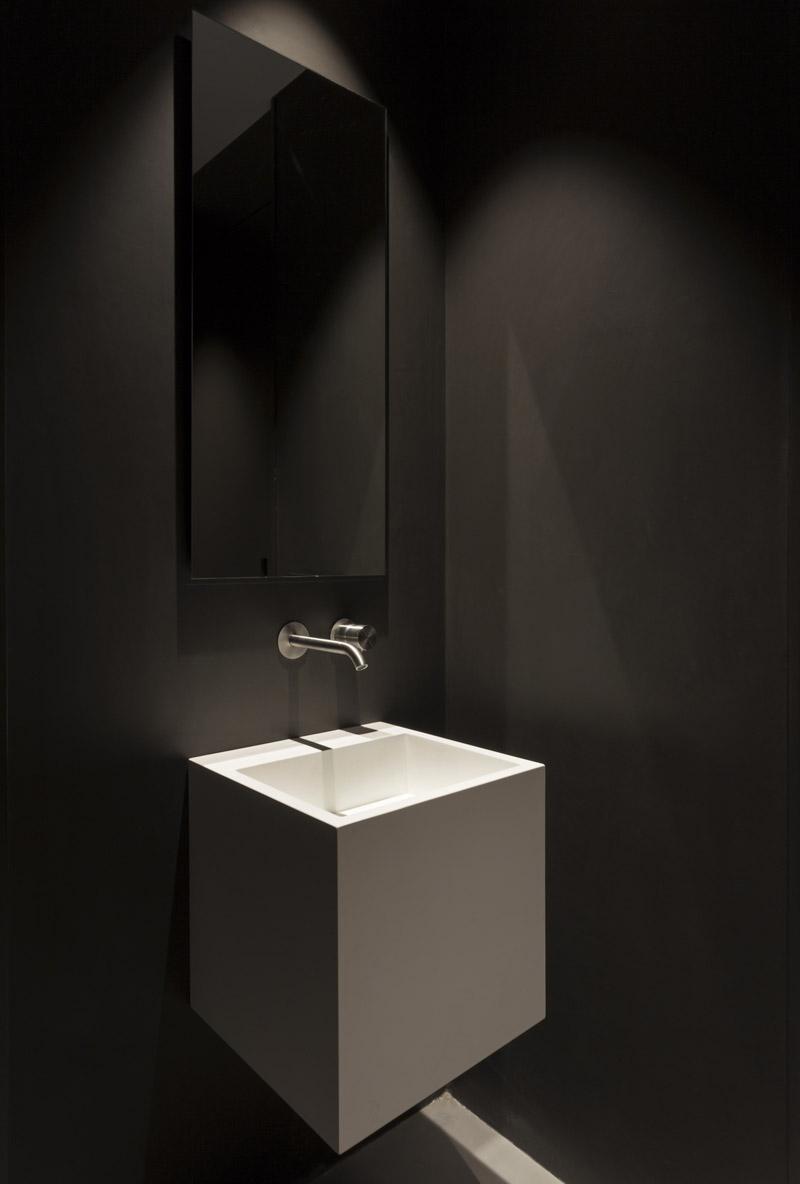 lavabo sospeso di casa PA