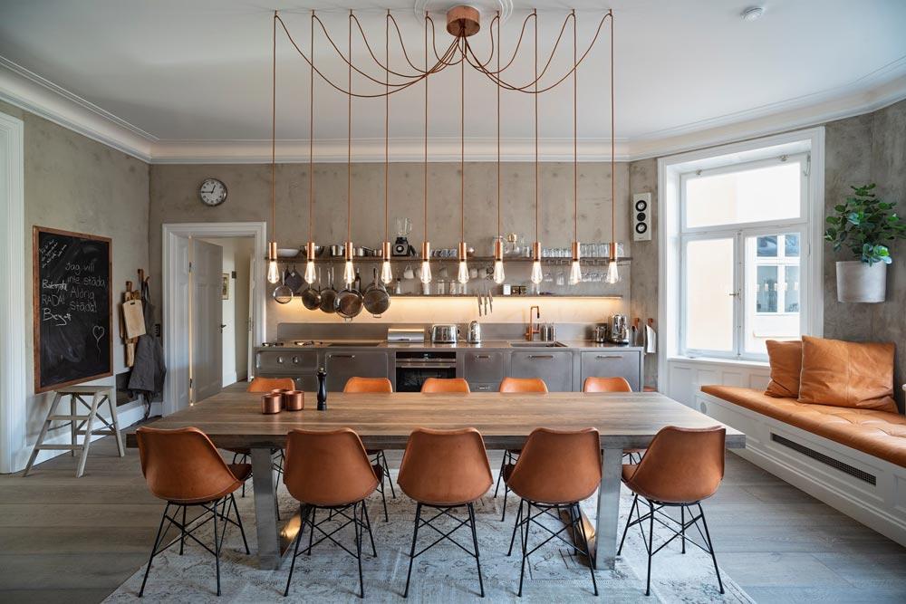 cucina elegante e finzionale