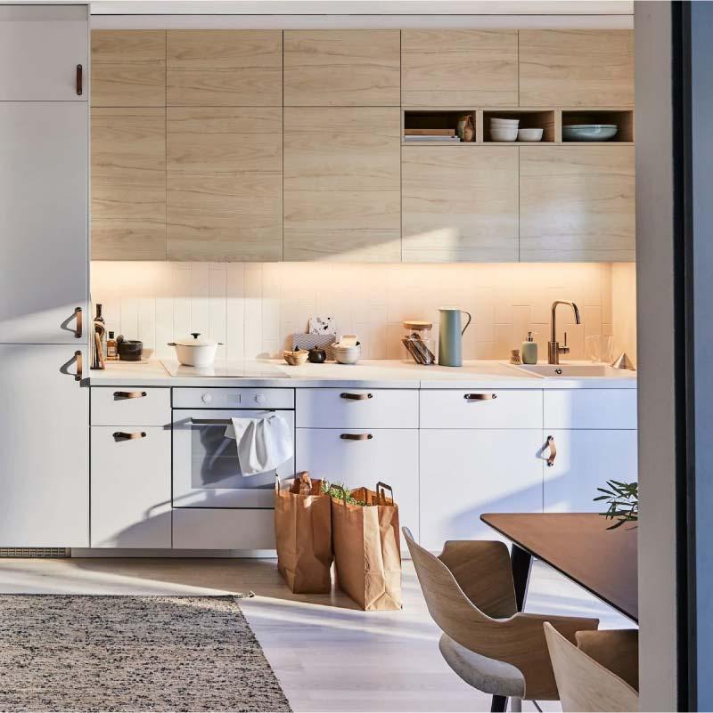 cucina moderna e lineare