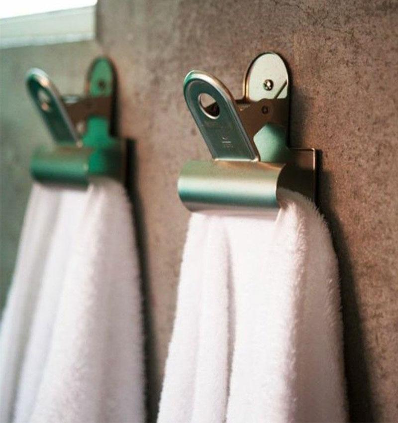 clips porta salviette