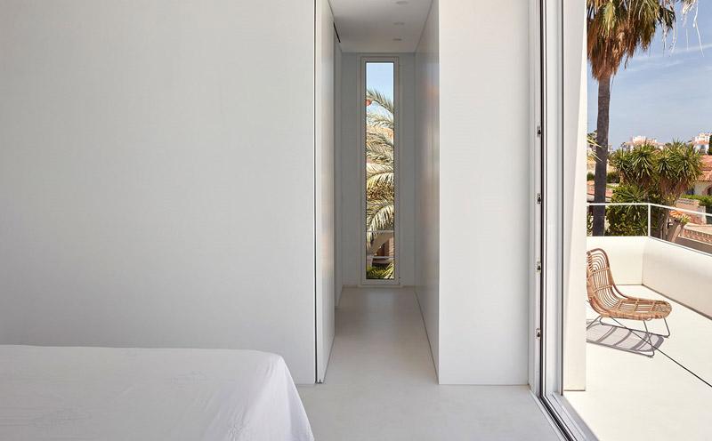 camera da letto con terrazzo privato