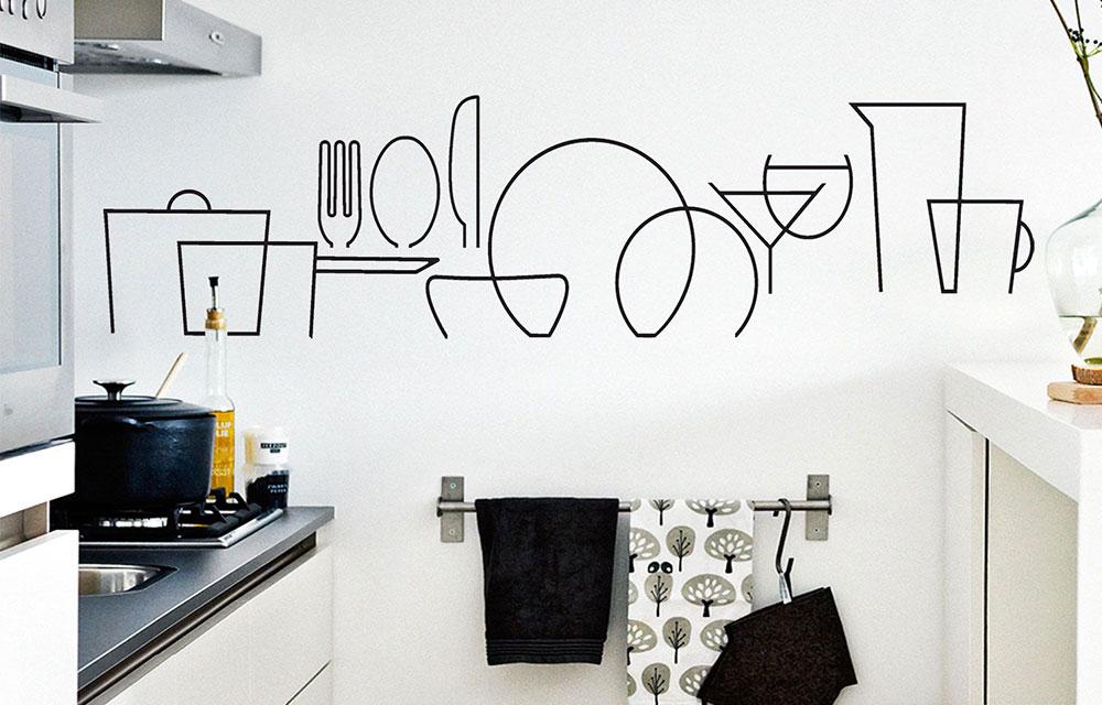 Risultato immagini per adesivi cucina