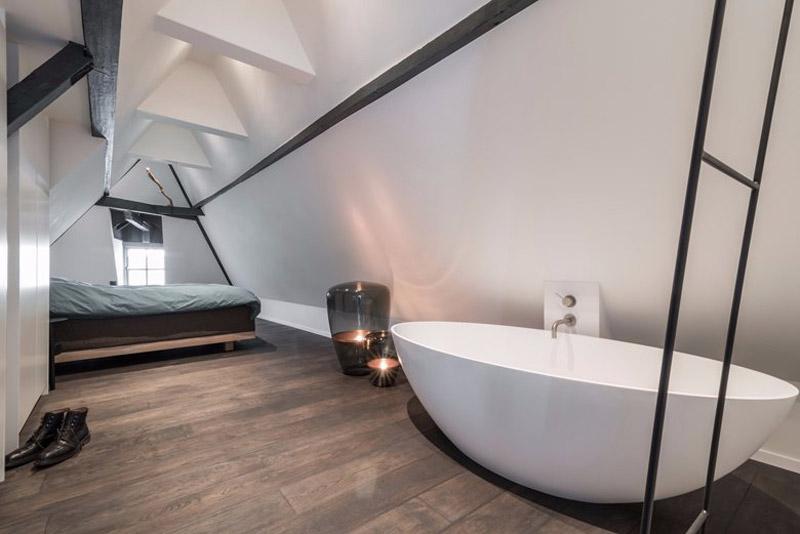 Vasca da bagno in camera da letto | Dettagli Home Decor