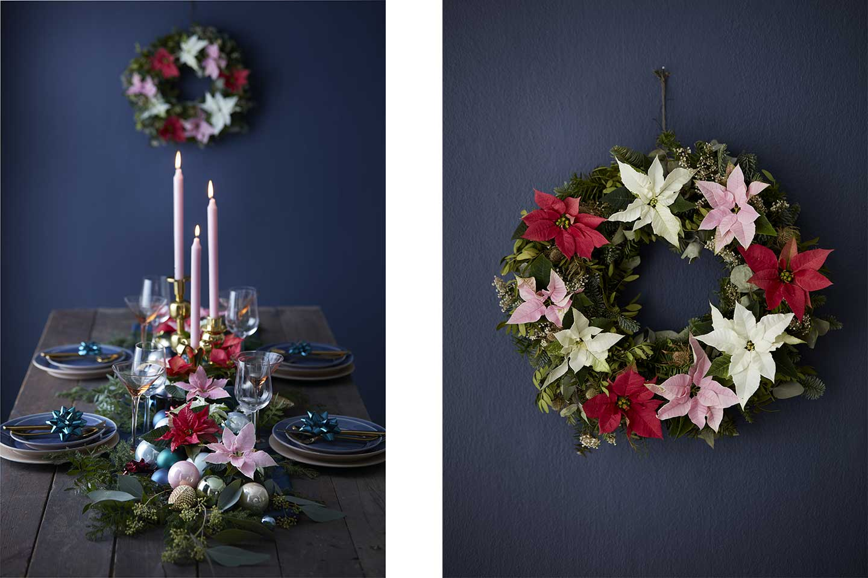 Stelle Di Natale Da Costruire stelle di natale: le decorazioni più stilose per queste