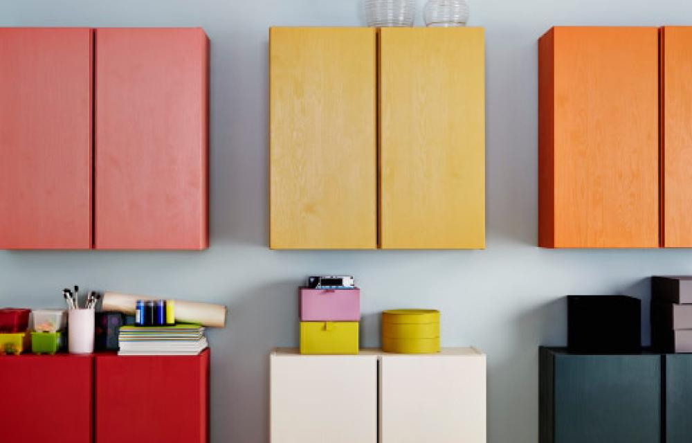 Mobili In Legno Grezzo Ikea.Restyling Colorato Per Il Mobile Ivar Di Ikea Dettagli Home Decor