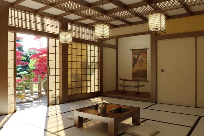 Come arredare il soggiorno in stile giapponese | Dettagli ...