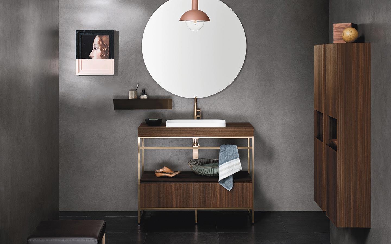 Arredo Bagno Romagna mobili bagno con struttura in alluminio di arbi arredobagno