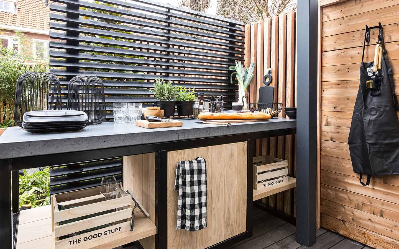 4 Cucine Da Esterno Fai Da Te Per L Estate Dettagli Home Decor
