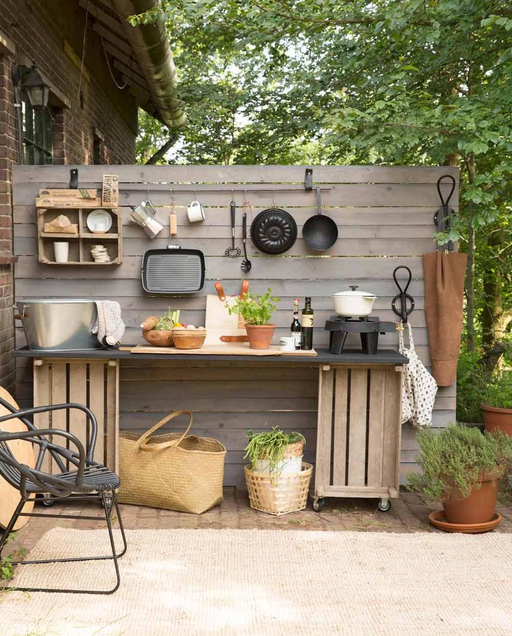 cucina da esterno fai da te