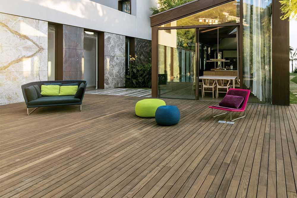 pavimento in legno di frassino