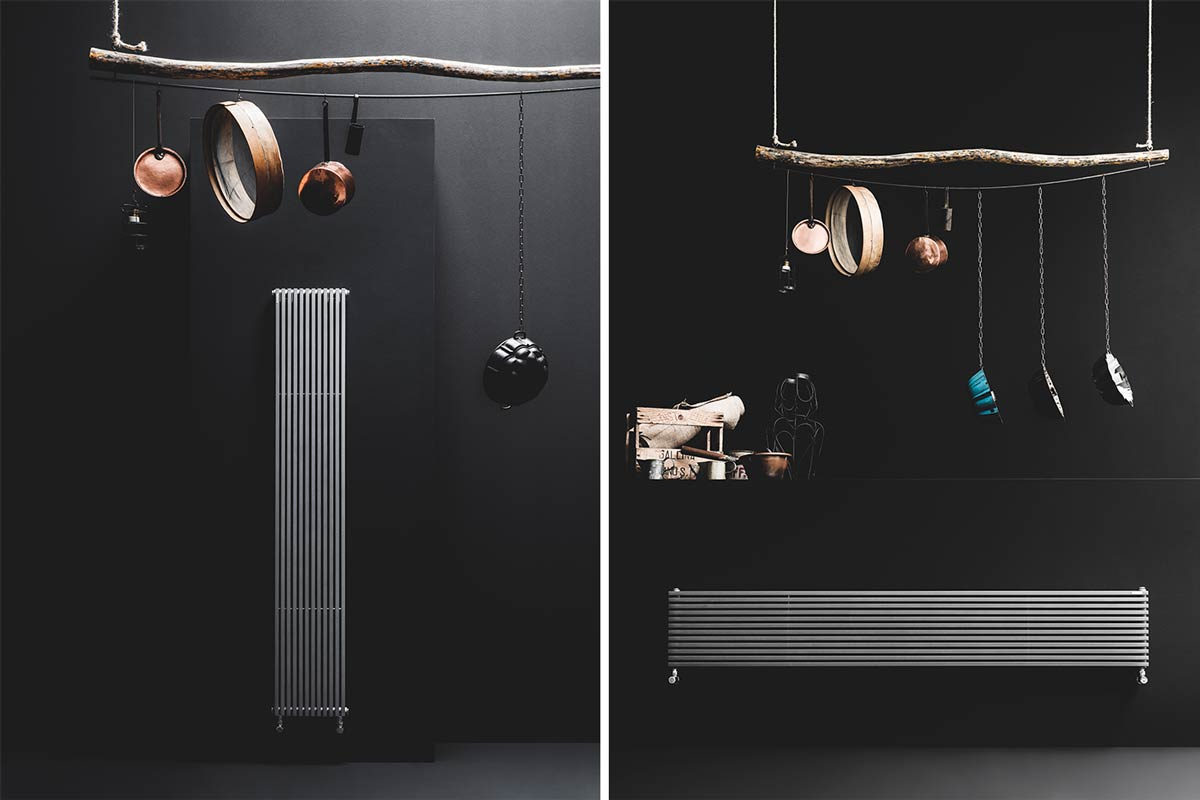 radiatore in cucina