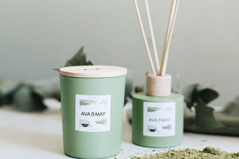 candela e diffusore naturale
