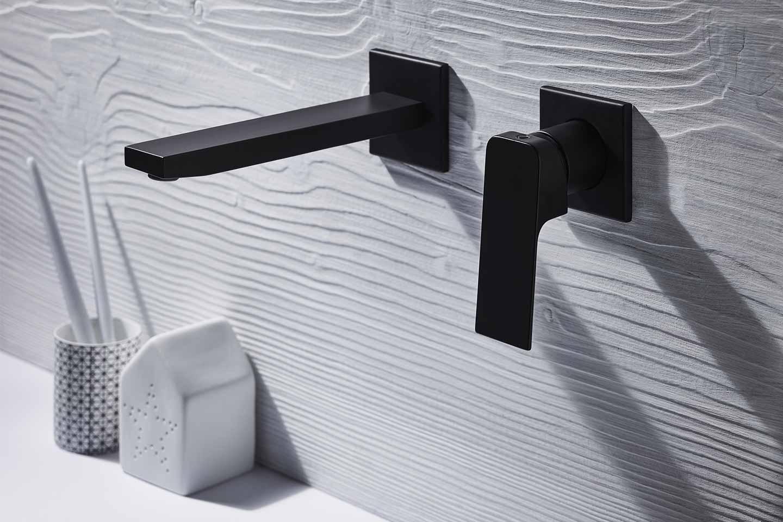 miscelatore bagno a parete