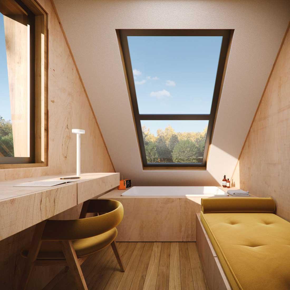 interno casetta da giardino Essentia01