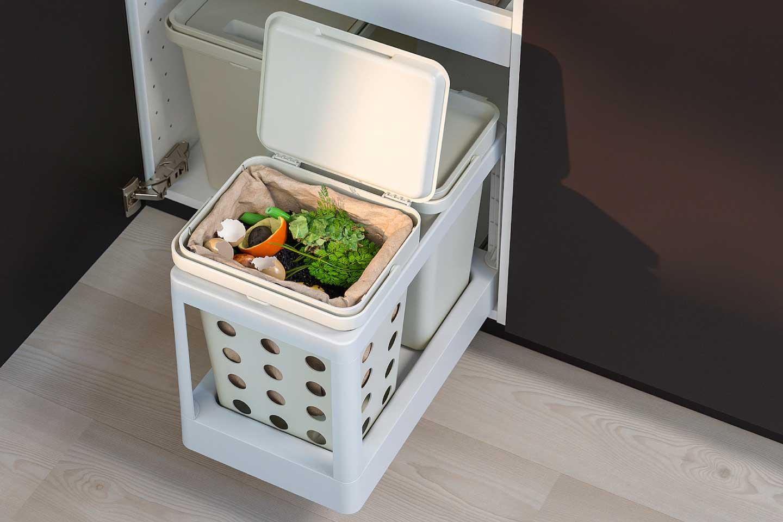 contenitore cucina raccolta differenziata