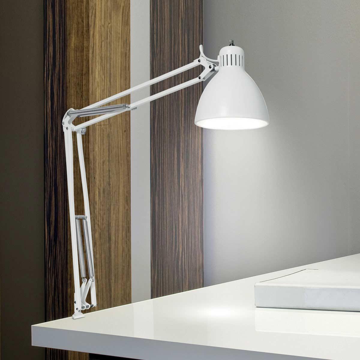 lampada da scrivania orientabile