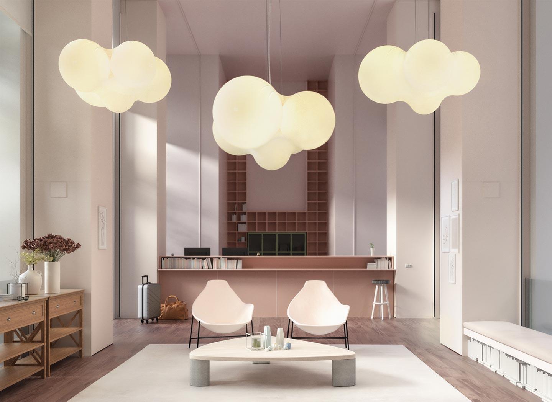 lampade a sospensione Cloudy
