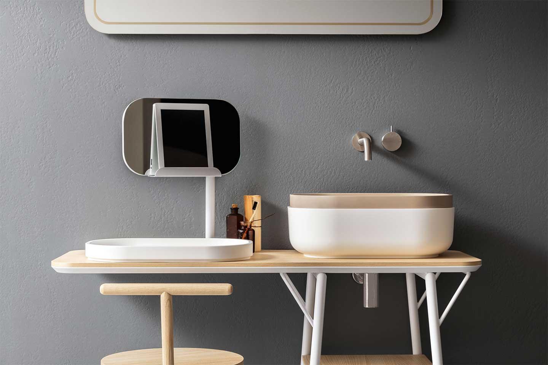 lavabo sistema Oblon di Novello