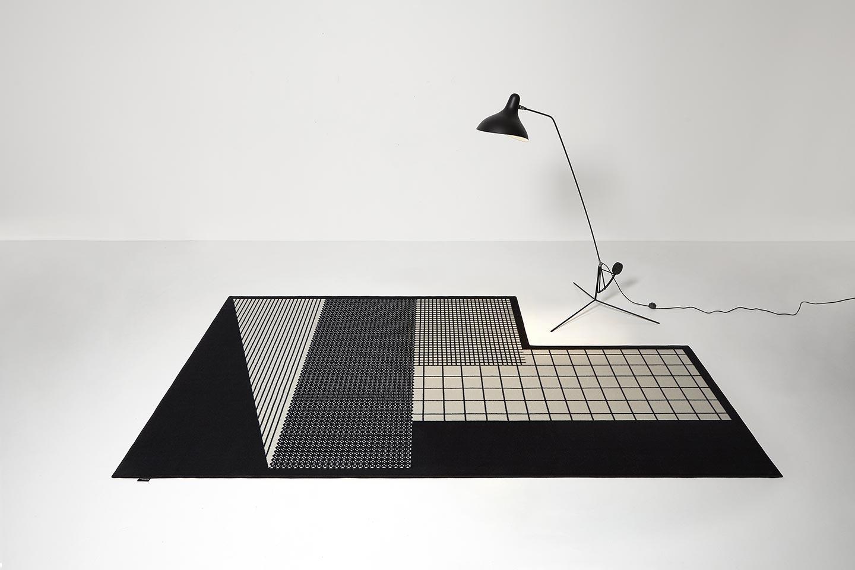 tappeti moderni disegni geometrici