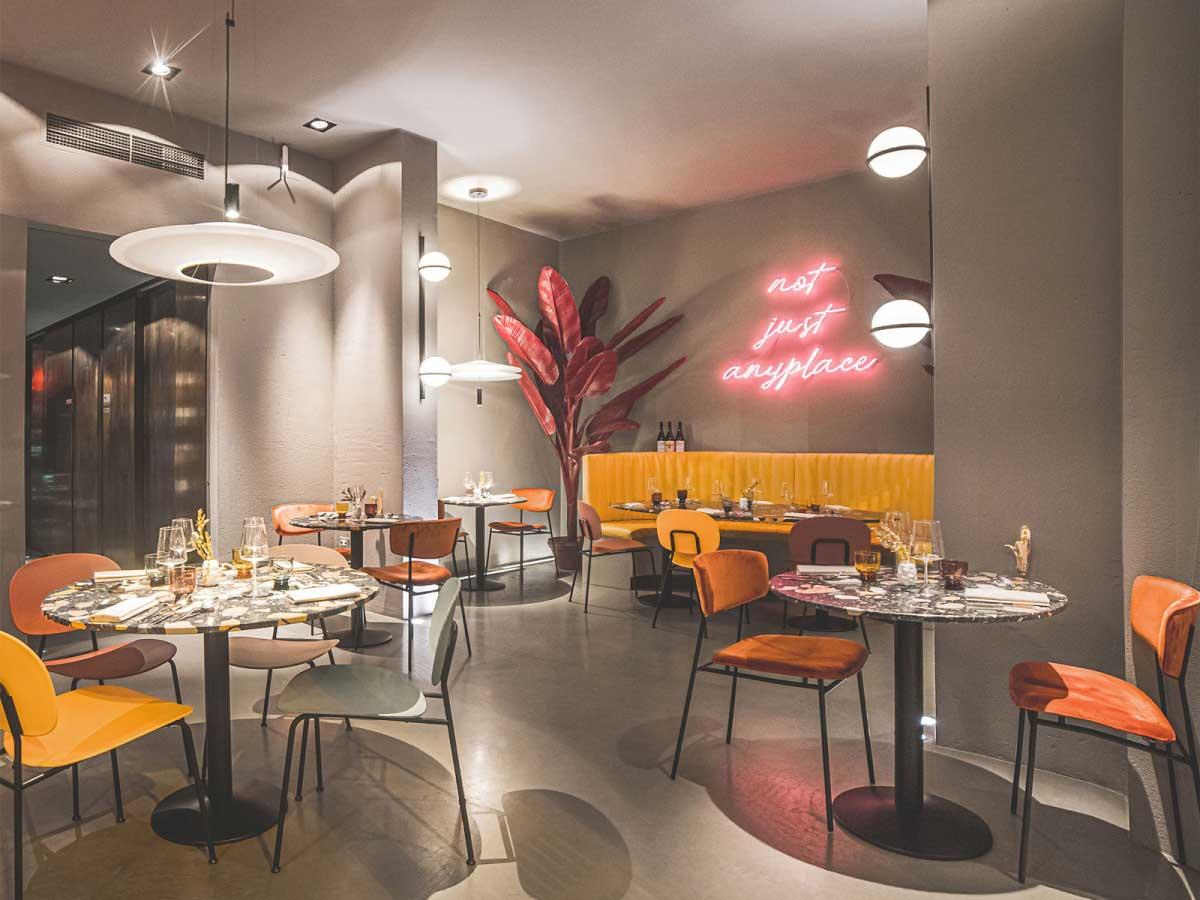 ristorante di design a Livorno