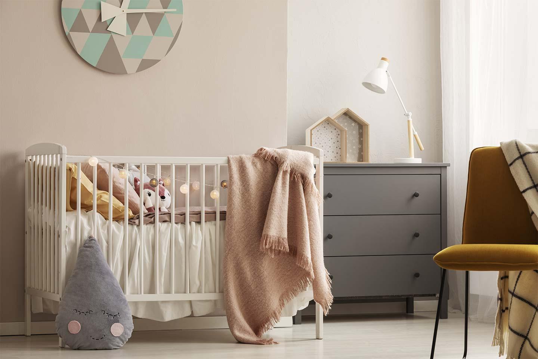 cameretta bebè stile nordico