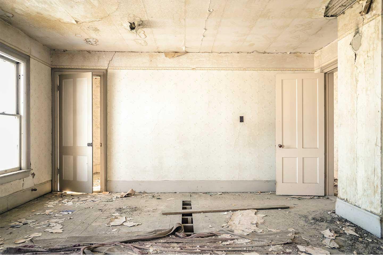 casa vecchia da ristrutturare
