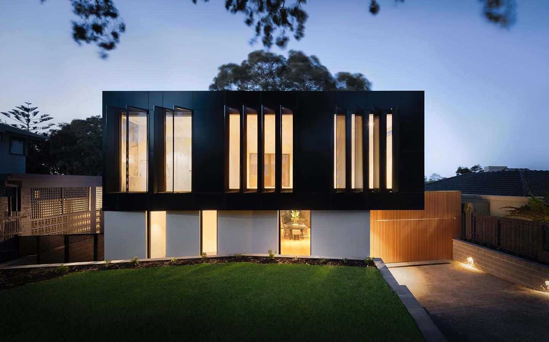 villa contemporanea con soluzioni domotiche