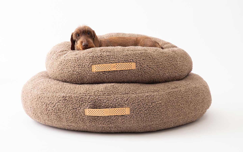 cuscini rotondi per cani piccoli e grandi