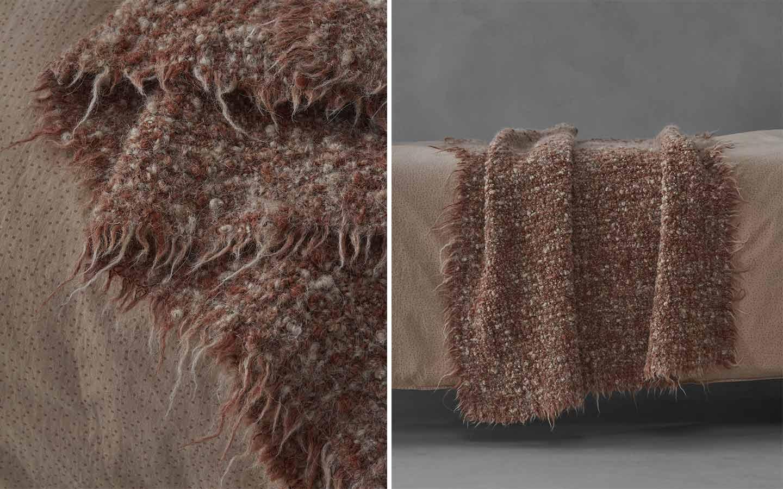 plaid in lana melange